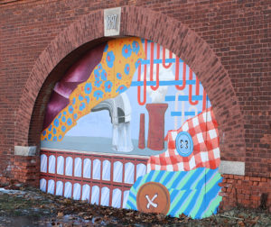 Woonsocket Wastewater Treatment Plant Mural